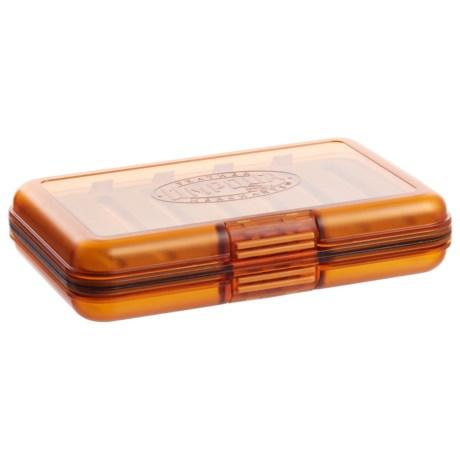 Umpqua Feather Merchants UPG Midge Fly Box in Orange