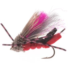 Umpqua Feather Merchants Yeager Tantrum Dry Fly - Dozen in Red - Closeouts
