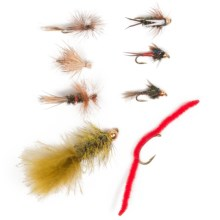 Umpqua Outdoors Day Tripper Assorted Flies - 16-Piece in See Photo - Closeouts