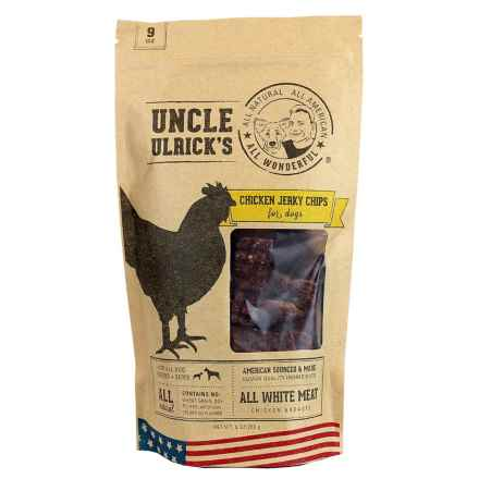 Uncle Ulricks Chicken Jerky Chips Dog Treats - 9 oz. in See Photo - Closeouts