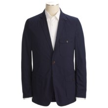 Unconstructed Sport Coat - Brushed Cotton (For Men) in Navy - 2nds