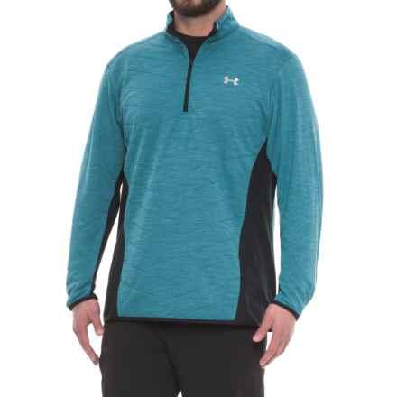 ColdGear® Reactor Hybrid Jacket - Zip Neck (For Men) in Bayou Blue - Closeouts