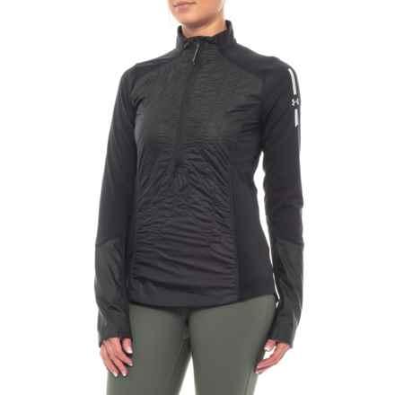 ColdGear® Reactor Jacket - Insulated, Zip Neck (For Women) in Black/Deceit - Closeouts
