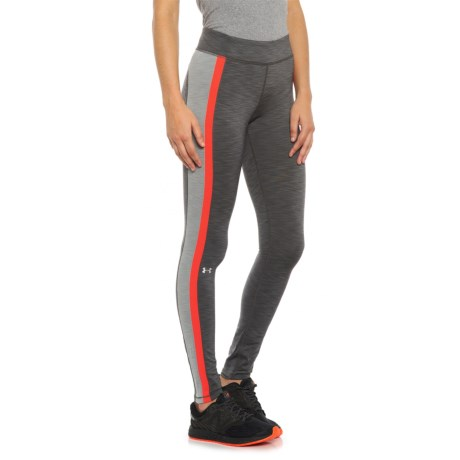 Under Armour ColdGear® Tights (For Women) in Carbon Heather