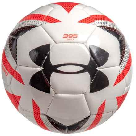 Desafio TouchSkin Soccer Ball - Size 5 in White/Neon - Closeouts