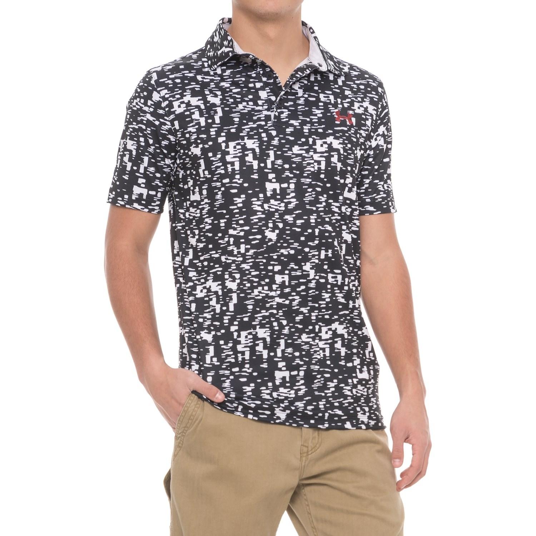 Under Armour Digital Printed Polo Shirt Short Sleeve For Men