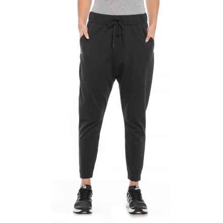 Favorite Tapered Slouch Pants (For Women) in Black/Black - Closeouts