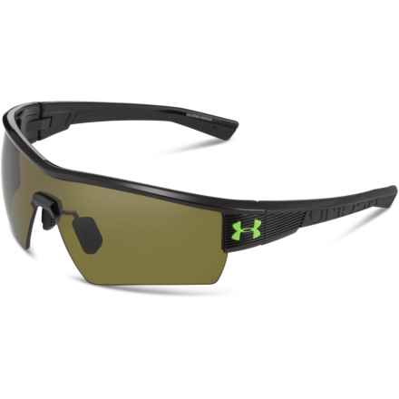 Fire Sunglasses in Shiny Black /Gameday - Overstock