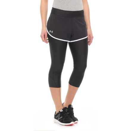 Fly Fast Shapri Capris  (For Women) in Black - Closeouts