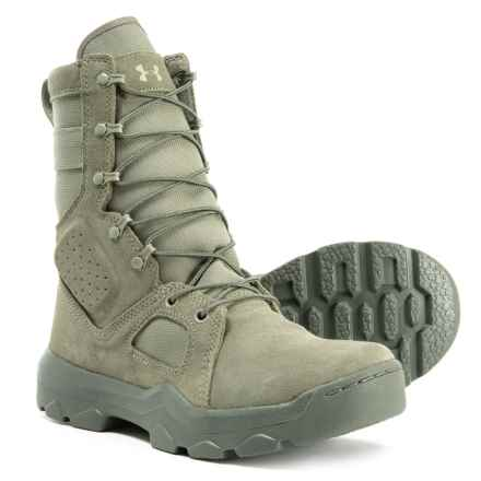 FNP Tactical Boots - Leather (For Men) in Sage - Closeouts
