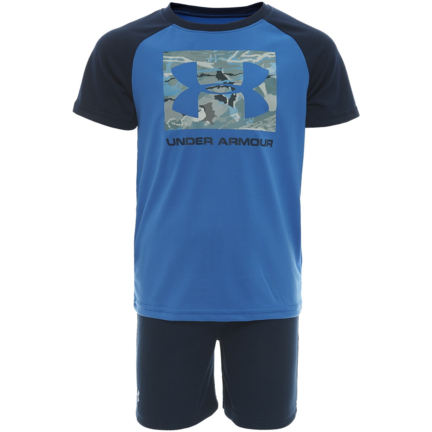 b0ff160f9 Under Armour Forest Reaper Raglan T-Shirt and Shorts - Short Sleeve (For  Toddler Boys)