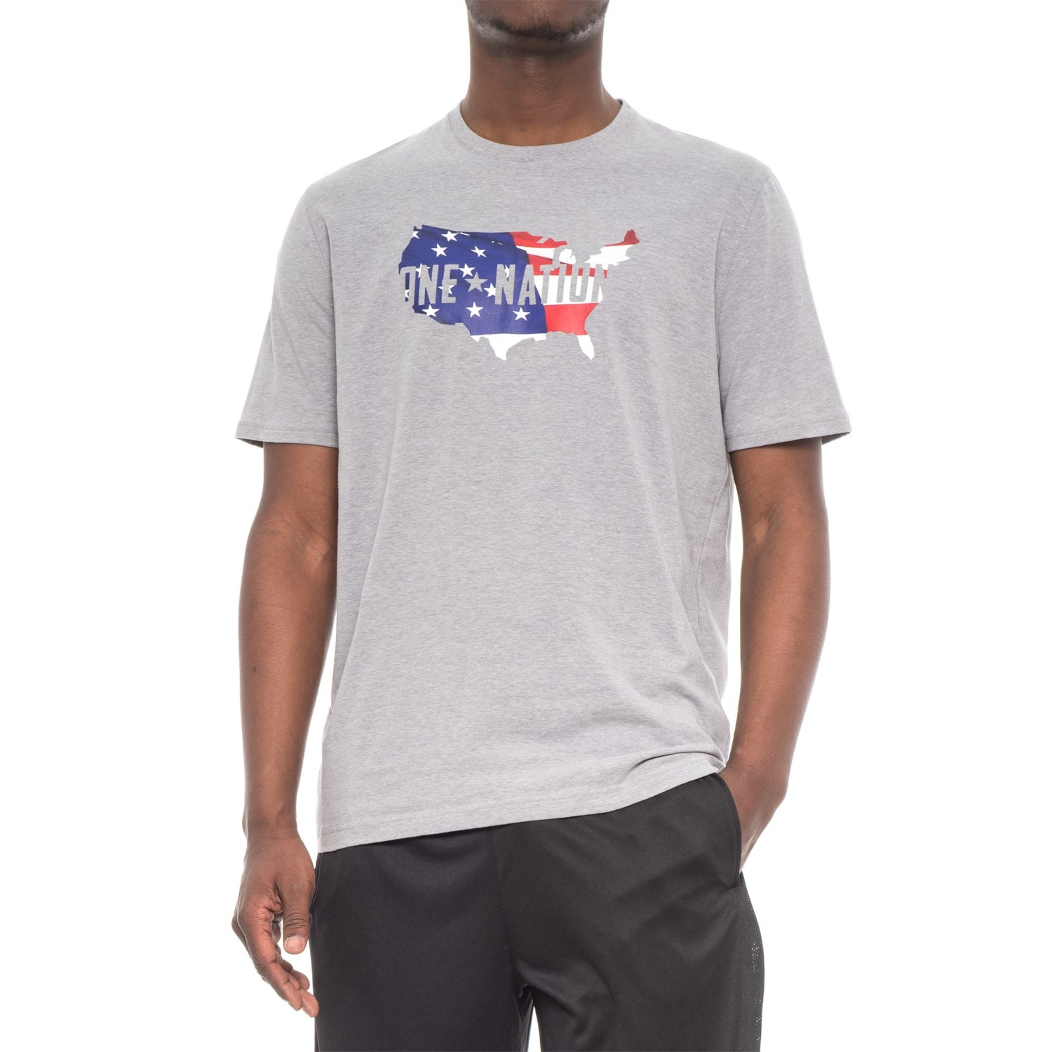 0d2f342d7 Under Armour Freedom One Nation Fill T-Shirt - Short Sleeve (For Men ...