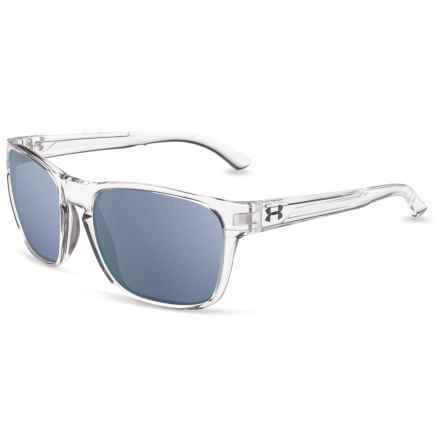 Glimpse Sunglasses (For Men and Women) in Gloss Crystal Clear/Crystal Smoke/Purple Multiflec