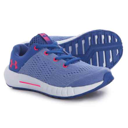 GPS Pursuit Running Shoes (For Little and Big Girls) in Jupiter Blue/Talc Blue - Closeouts