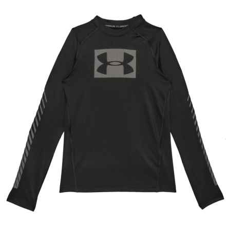 Graphic T-Shirt - Long Sleeve (For Big Boys) in Black - Closeouts