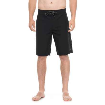 Mania Tidal Rigid Boardshorts - UPF 30+ (For Men) in Black - Closeouts