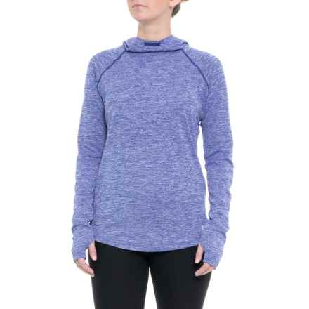 Mileage Hoodie (For Women) in Formation Blue - Closeouts
