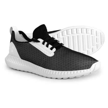 Moda Run Low Casual Sneakers (For Men) in Black/White - Closeouts