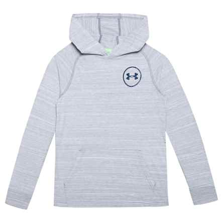MVP Tri-Blend Knit Hoodie (For Boys) in Overcast Gray - Closeouts
