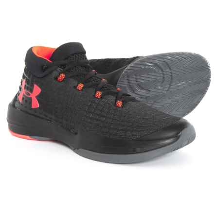 NXT Basketball Shoes (For Men) in Black/Graphite/Marathon Red - Closeouts