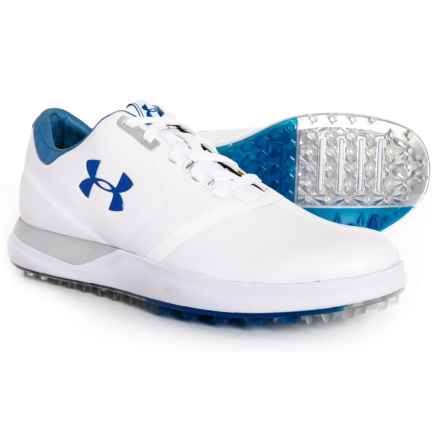 Performance Spikeless Golf Shoes (For Women) in White/Moroccan Blue - Closeouts