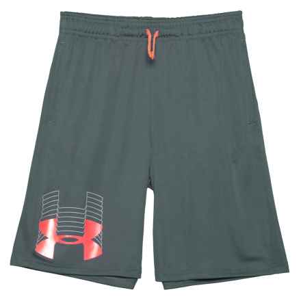 Prototype Logo Shorts (For Big Boys) in Stealth Gray - Closeouts