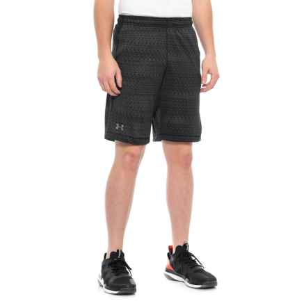 "Raid Jacquard HeatGear® Shorts - 10"" (For Men) in Black - Closeouts"