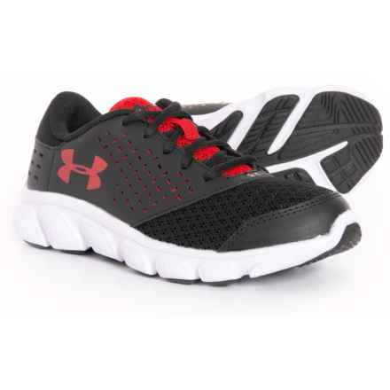 Rave Running Shoes (For Little and Big Boys) in 001 Black/White/Red - Closeouts