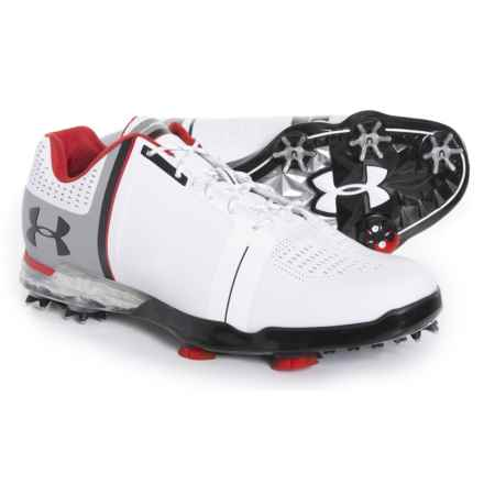 Spieth One Golf Shoes (For Men) in White/Black - Closeouts