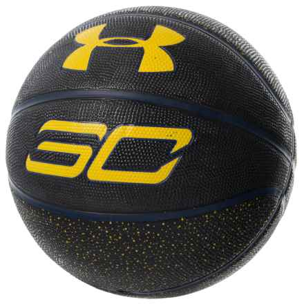 Stephen Curry Basketball - Size 7 in Black Speck - Closeouts