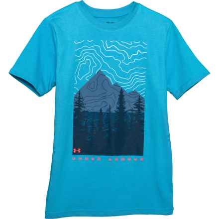 Topo MNT T-Shirt - Short Sleeve (For Big Boys) in Ether Blue - Closeouts