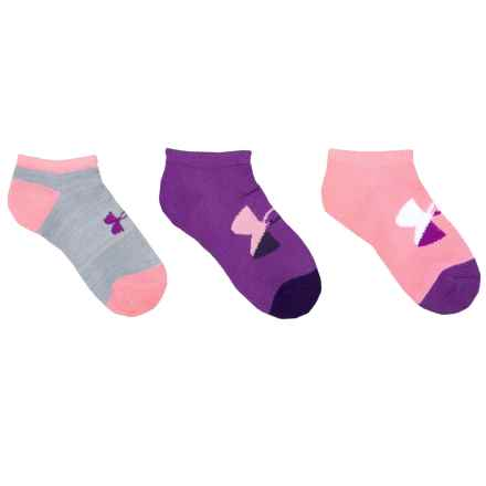 Training Socks - 3-Pack, Below the Ankle (For Big Kids) in Purple Rave - Closeouts