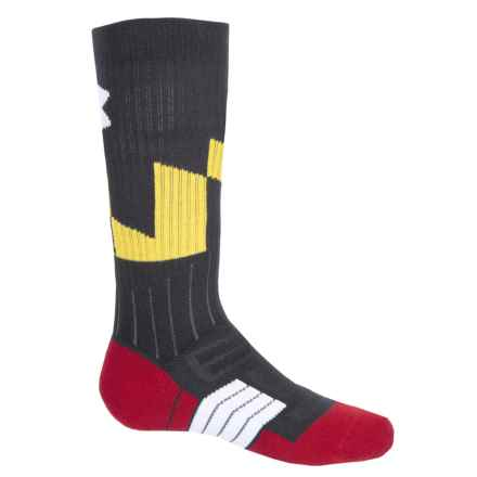 Unrivaled Coat of Arms Socks - Crew (For Big and Little Kids) in 001 Black - Closeouts