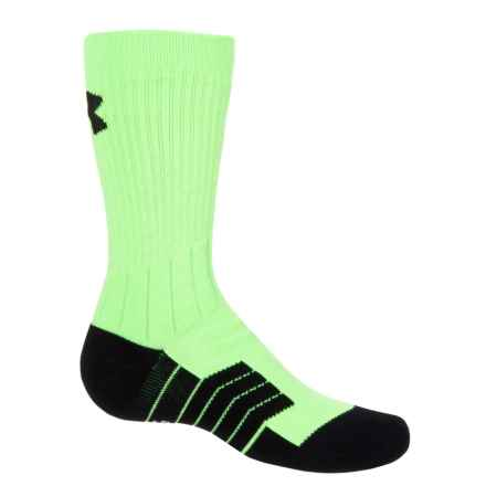 Unrivaled Socks - Crew (For Big and Little Kids) in Fuel Green - Closeouts
