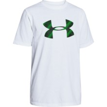 Under Armour ZagZig T-Shirt - Short Sleeve (For Boys) in White - Closeouts