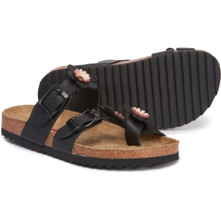 d2f1c5a3d Union Bay Black Leia Sandals (For Girls) in Black