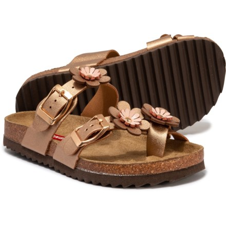 Union Bay Leia Sandals (For Girls) in Rose Gold