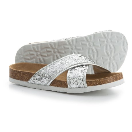 Union Bay Lovely Sandals (For Girls) in Silver