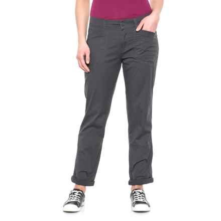 Union Bay Midori Stretch Cotton Twill Pants (For Women) in Galaxy Grey - Closeouts