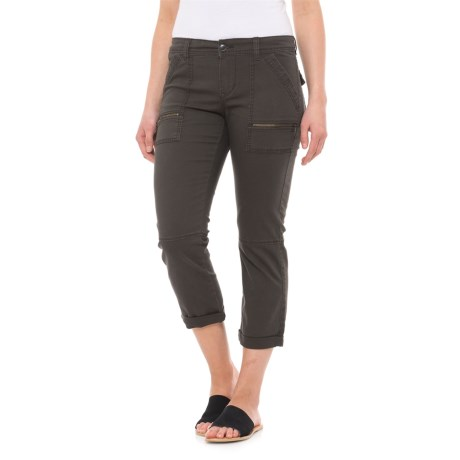 Union Bay Norma Crop Pants (For Women) in Eclipse