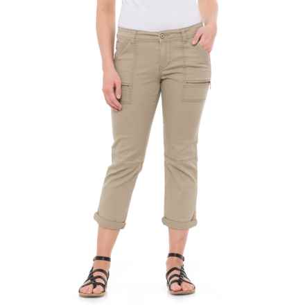 Union Bay Norma Crop Pants (For Women) in Taupe - Closeouts