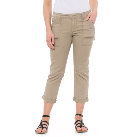 Union Bay Norma Crop Pants (For Women) in Taupe