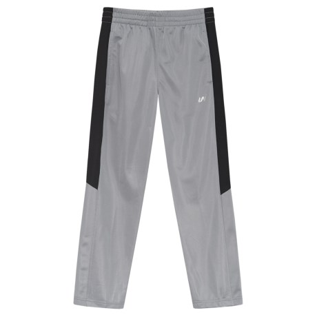 UniPro Tricot Active Pants (For Kids) in Grey Flannel/Black Soot