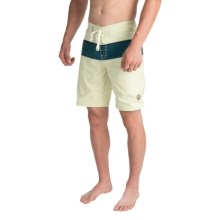 United by Blue Classic Stripe Boardshorts (For Men) in Natural - Closeouts