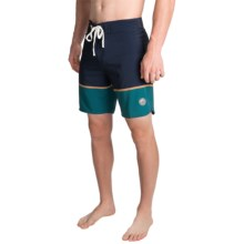 United by Blue Clear Creek Boardshorts (For Men) in Navy/Teal - Closeouts