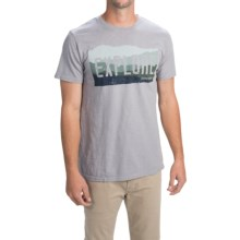 United by Blue Explore T-Shirt - Organic Cotton, Short Sleeve (For Men) in Grey - Closeouts