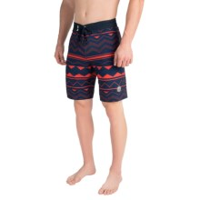 United by Blue Westwater Boardshorts - Recycled Materials (For Men) in Navy - Closeouts