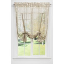 Ellis Curtain Stacey 56 By 36 Inch Tailored Tier Pair Curtains White 56x36