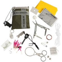 United Cutlery M48 Ultimate Survival Kit - 24-Piece in See Photo - Closeouts