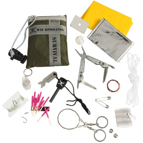 United Cutlery M48 Ultimate Survival Kit - 24-Piece in See Photo